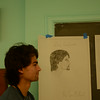 Drawing Class,  Wednesday Aug 20, 2014