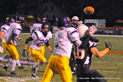 Jonesville vs Blissfield V Football (Play Off)