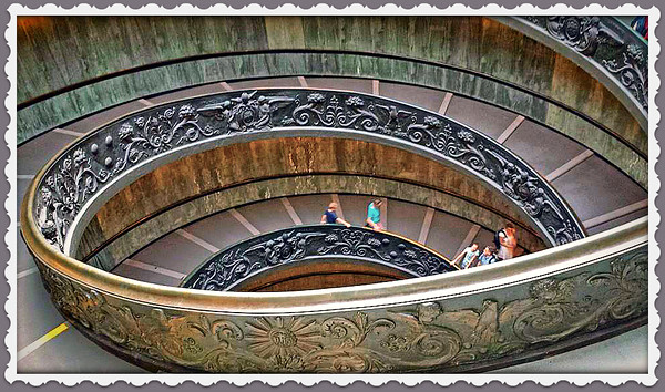 Spiral Stairs in Sistine Chapel