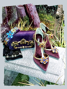 Window browsing in Florence. Dolce & Gabbana Shoes, Bag and accessories