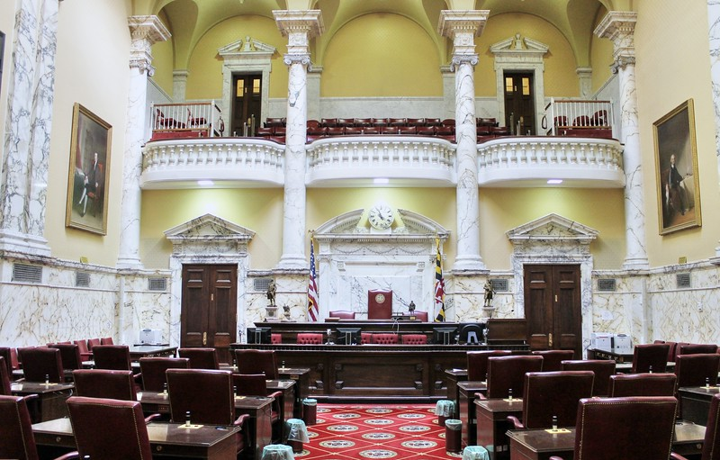 The Md State House - The Senate