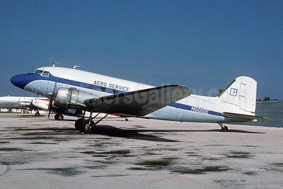 Aero Service Douglas C-47A-DL (DC-3) N5000E (msn 20475) MIA (Bruce Drum). Image: 105330.