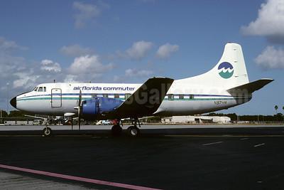 Air Florida Commuter-Marco Island Airways Martin 404 N974M (msn 14158) (Marco Island Airways colors) MIA (Bruce Drum). Image: 103343.