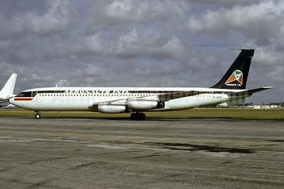 Aeronauts International Boeing 707-321 N726PA (msn 17604) MIA (Bruce Drum). Image: 103341.