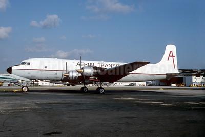 Aerial Transit (Bellomy-Lawson Aviation) Douglas DC-6A N89BL (msn 45374) MIA (Bruce Drum). Image: 103507.
