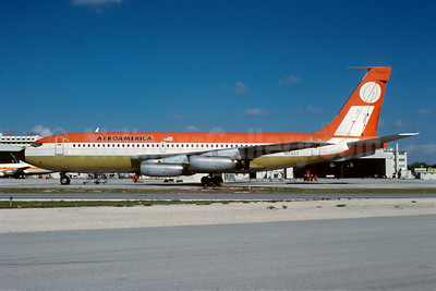 AeroAmerica Boeing 720-027 N733T (msn 18581) MIA (Bruce Drum). Image: 101910.