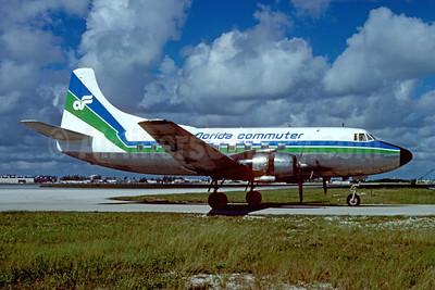 Air Florida Commuter-Southern International Airways Martin 404 N147S (msn 14161) MIA (Bruce Drum). Image: 102366.