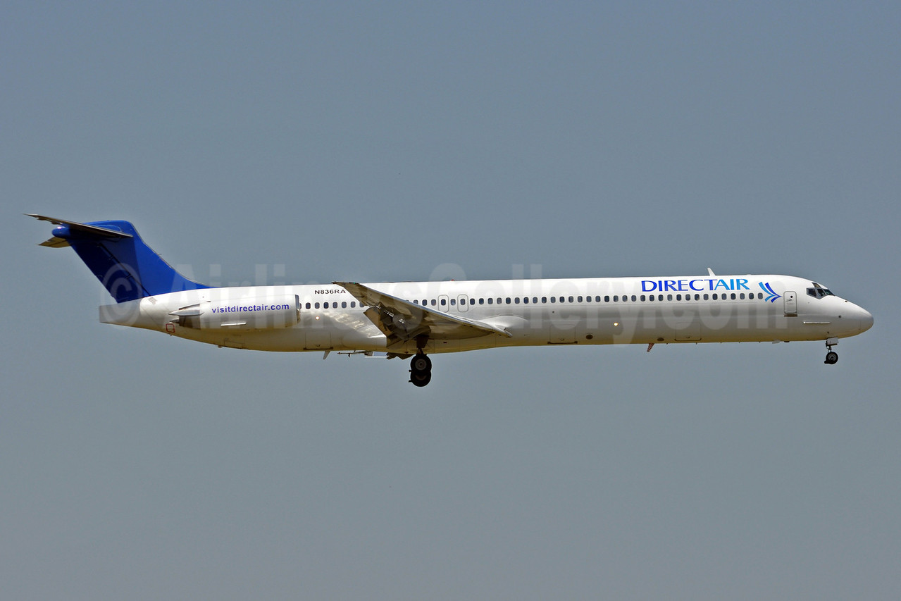 Direct Air-Falcon Air Express McDonnell Douglas DC-9-83 (MD-83) N836RA (msn 53046) MYR (Jan Petzold). Image: 904828.