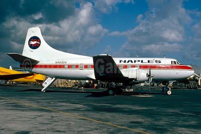 Naples Airlines-PBA Martin 404 N40424 (msn 14130) MIA (Bruce Drum). Image: 102730.