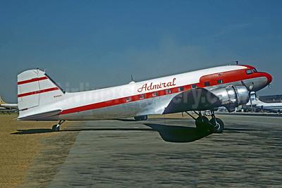 Admiral Airways Douglas DC-3A-191 N16069 (msn 1909) (PSA colors) OAK (Jacques Guillem Collection). Image: 950600.
