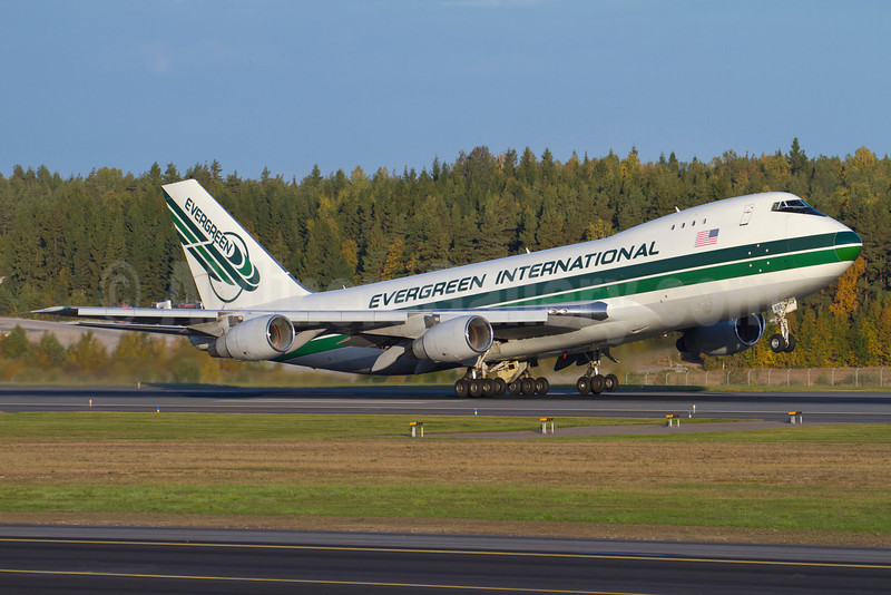 Evergreen International Airlines Boeing 747-230F N490EV (msn 24138) ARN (Stefan Sjogren). Image: 907686.