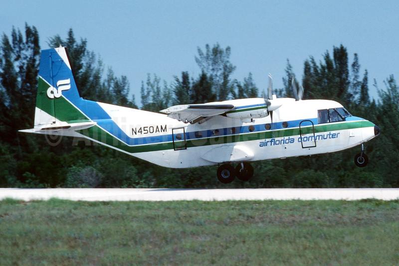 Air Florida Commuter - Air Miami CASA 212 Aviocar Series 200 N450AM (msn 1964) APF (Jay Selman). Image: 403954.