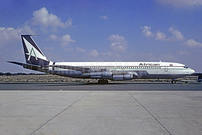 African Airways International Boeing 707-330B 5Y-AXI (msn 18927) SHJ (Christian Volpati Collection). Image: 930386.