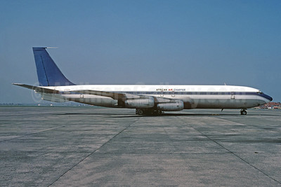 African Air Charter Boeing 707-331 N705PA (msn 17686( (Sobelair colors) OST (Christian Volpati Collection). Image: 950661.