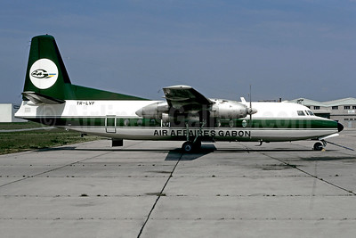 Air Affaires Gabon Fairchild F-27A TR-LVF (msn 108) LBG (Christian Volpati). Image: 949518.
