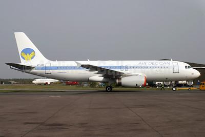 Air Deccan Airbus A320-232 A7-ABS (msn 932) BOH (Antony J. Best). Image: 901278.