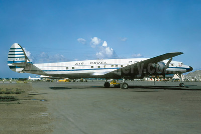 Air Korea Lockheed 1649A-98-16 Starliner HL4003 (msn 1037) SGN (Jacques Guillem Collection). Image: 944000.