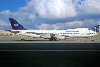 Air Universal Boeing 747-230B JY-AUB (msn 23622) AMS (Christian Volpati Collection). Image: 943785.