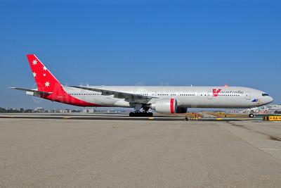 V Australia (Virgin Blue International Airlines) Boeing 777-3ZG ER VH-VPD (msn 37938) LAX (Ton Jochems). Image: 905035.