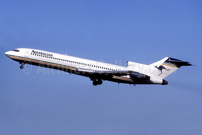 Australian Airlines (1st) Boeing 727-276 VH-TBM (msn 21171) (Christian Volpati Collection). Image: 936750.