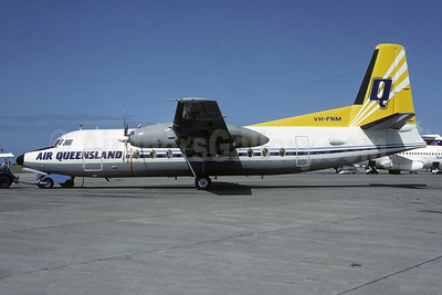 Air Queensland Fokker F.27 Mk. 200 VH-FNM (msn 10292) MEL (Christian Volpati Collection). Image: 949499.