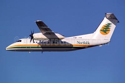 Norfolk Island Airlines (1st) de Havilland Canada DHC-8-103 Dash 8 VH-NID (msn 170) SYD (Rob Finlayson). Image: 941077.