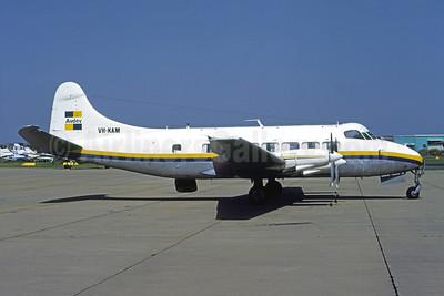 Avdev Airlines de Havilland DH.114 Heron 2D VH-KAM (msn 14123) (Robert N. Smith). Image: 951602.