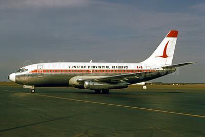 Eastern Provincial Airways (EPA) Boeing 737-2E1 CF-EPL (msn 20396) YYG (Bruce Drum). Image: 101737.