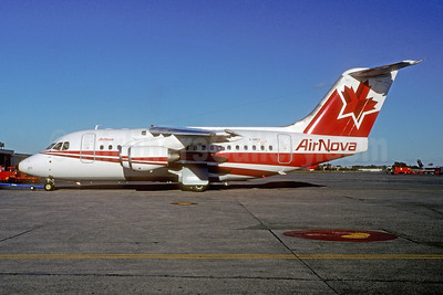 AirNova BAe 146-100 C-GNVY (msn E1011) YUL (Pierre Langlois). Image: 951383.