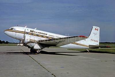 Millardair Douglas C-117D (Super DC-3) C-GGKG (msn 43354) CVG (Keith Armes). Image: 929963.