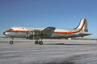 Eldorado Aviation Douglas DC-4-1009 C-FJRW (msn 42983) YWG (Christian Volpati Collection). Image: 928435.