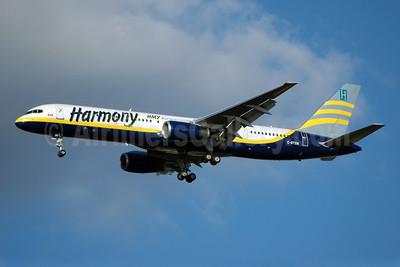 Harmony Airways - HMY Airways Boeing 757-28A C-GTSN (msn 24543) JFK (Bruce Drum). Image: 100567.