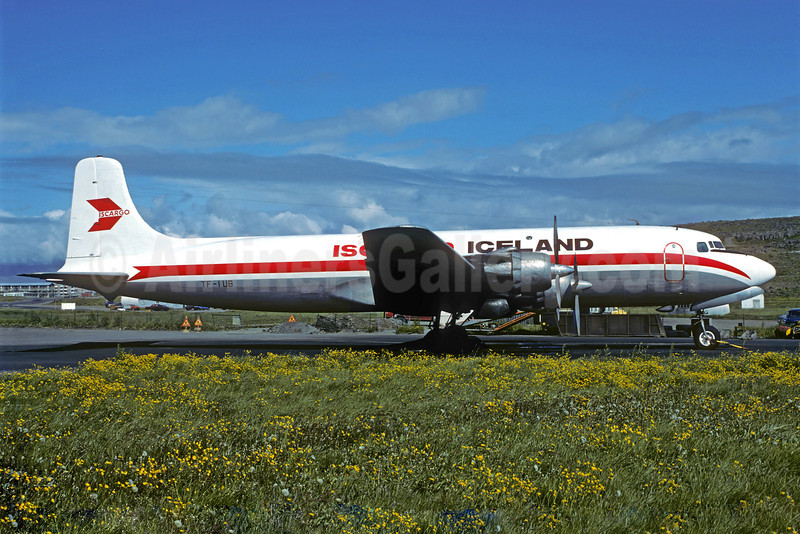 Iscargo Iceland Douglas DC-6A TF-IUB (msn 44907) REK (Christian Volpati Collection). Image: 921742.