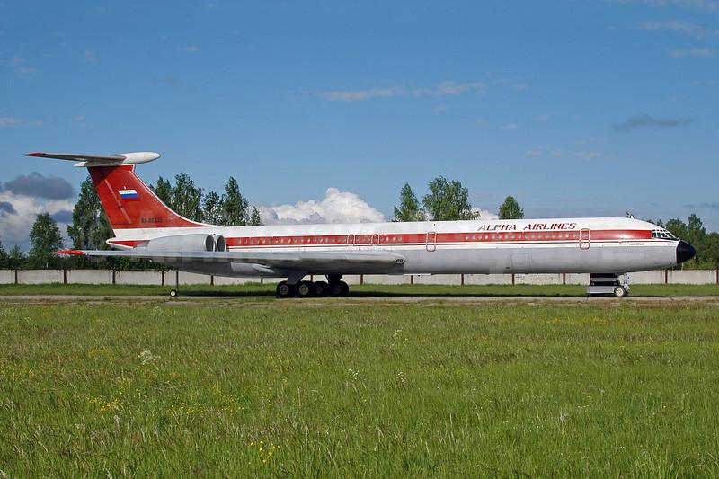 Alpha Airlines (Russia) Ilyushin Il-62M RA-86935 (msn 1545951) RIX (Ton Jochems). Image: 951364.