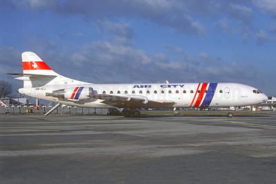 Air City Sud Aviation SE.210 Caravelle 10B3 HB-ICJ (msn 169) ORY (Christian Volpati Collection). Image: 926193.
