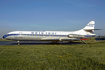 Aero Tour Sud Aviation SE.210 Caravelle 3 F-BUFH (msn 123) (Sobelair colors) ORY (Christian Volpati). Image: 907088.