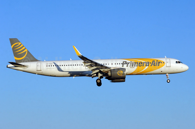 Primera Air (Scandinavia) Airbus A321-251N WL OY-PAA (msn 8145) YYZ (TMK Photography). Image: 942735.