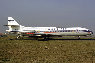 Aerotex (Aerotour Express) Sud SE.210 Caravelle 6N F-BVSF (msn 241) (JAT colors) ORY (Christian Volpati). Image: 906534.