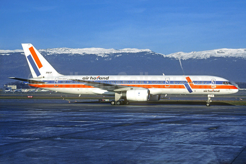 Air Holland Boeing 757-27B PH-AHF (msn 24136) GVA (Jacques Guillem Collection). Image: 930701.