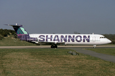 Introduced in 1994 to promote the new London Gatwick - Shannon route