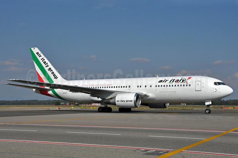 Air Italy (2nd) Boeing 767-23B ER I-AIGH (msn 23973) MXP (Richard Vandervord). Image: 903658.