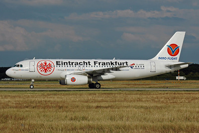 Aero Flight Airbus A320-232 D-ARFE (msn 575) (Eintracht Frankfurt) FRA (Bernhard Ross). Image: 901243.