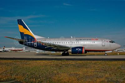 Aeroflot Don Boeing 737-528 VP-BLG (msn 25233) FRA (Bernhard Ross). Image: 900322.