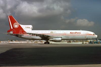 AeroPeru (1st) Lockheed L-1011-385-1-14 TriStar 100 N10114 (msn 1079) MIA (Bruce Drum). Image: 103445.