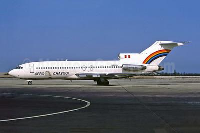 Aero Chasqui Boeing 727-27 N129CA (msn 19501) LIM (Perry Hoppe). Image: 920017.