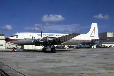 Aeroservicios del Suroeste Douglas DC-6 (F) XA-FIB (msn 43035) OPF (Bruce Drum). Image: 105414.