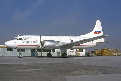 Air Monarch - KF (Kelowna Flightcraft Air Charter) Convair 580 C-FKFL (msn 465) MEX (Augusto Gomez Rojas - Christian Volpati Collection). Image: 951986.