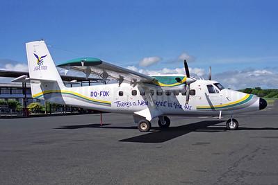 Air Fiji (2nd) de Havilland Canada DHC-6-100 Twin Otter DQ-FDK (msn 27) NAN (Rob Finlayson). Image: 950733.