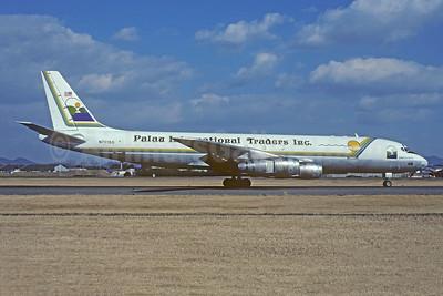 Palau International Traders Inc (PITI) McDonnell Douglas DC-8F-55 Jet Trader N7015Q (msn 45882) NGO (Christian Volpati Collection). Image: 951891.