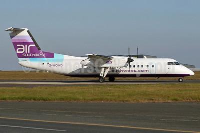 Air Southwest Bombardier DHC-8-311 G-WOWD (msn 286) STN (Pedro Pics). Image: 905470.